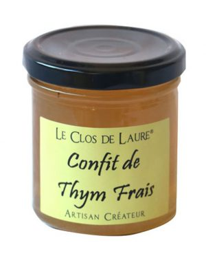 confit of thyme