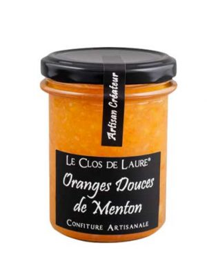 confiture d'oranges douces